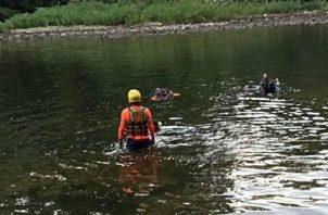 La desaparición de Edgardo José fue reportada en horas de la tarde del domingo, ya que se encontraba acompañado por unas ocho personas, quienes disfrutaban de las frescas aguas del río David.