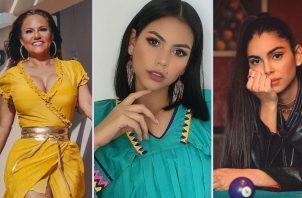 Sandra Sandoval, Rosa Montezuma y Elizabeth Grimaldo. Instagram