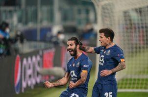 Sergio Oliveira marcó el gol que le dio el pase al Porto a los cuartos de final. Foto: @FCPorto
