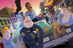 'Paradise PD' es una serie cargada de humor negro. Foto: Netflix