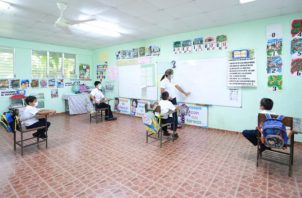 En las escuelas esperan cumplir con las medidas de bioseguridad.