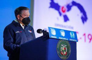 Laurentino Cortizo dijo que se está analizando la información recabada.