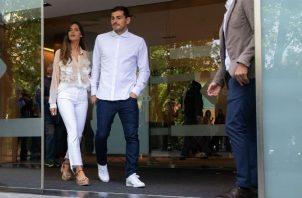 Iker Casillas y Sara Carbonero. Foto:EFE