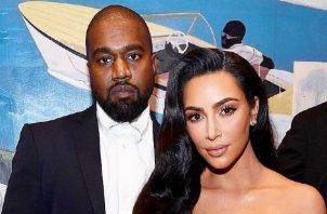 Kanye y Kim. Foto: Instagram