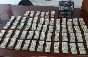 Sorprenden a funcionario del Órgano Judicial con importante suma de dinero en efectivo. Foto:Cortesía