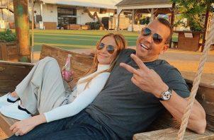 Jennifer López y Alex Rodríguez han tenido problemas pero están trabajando en ello. Foto: Archivo