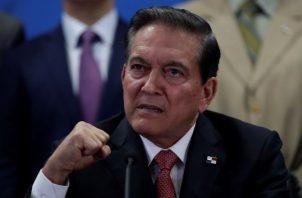 Laurentino Cortizo Cohen, presidente de la República de Panamá.