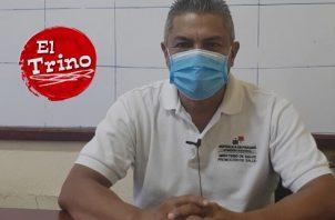 Cuando se detectó el primer caso, Ismael Vergara era director Regional de Salud de Panamá Oeste.