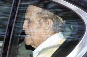 Príncipe Felipe, duque de Edimburgo.