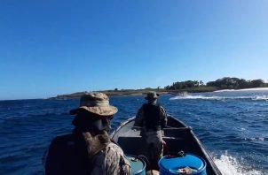 El Senan ya mantiene un puesto de vigilancia costera en Punta Chame. Foto: Eric A. Montenegro
