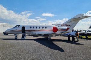 El expresidente Ricardo Martinelli manifestó que cuenta con toda la documentación que acredita la legalidad en la compra del avión.