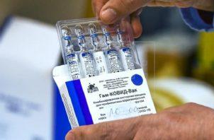 Panamá pidió a Rusia 3 millones de su vacuna contra la covid-19.