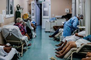 Brasil se aproxima a un colapso sanitario por la pandemia de la covid-19. Foto: EFE