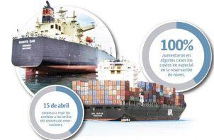La ACP dijo que no se trata de un aumento de tarifa sino del cobro de nuevos servicios marítimos.