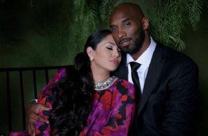 Vanessa Bryant y Kobe Bryant. Instagram