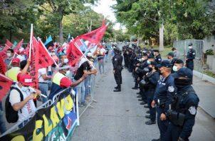 Con la retirada de algunas organizaciones, las protestas podrían intensificarse las próximas semanas.