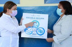 'Escuela Segura' es un aval que le otorga el Ministerio de Educación a aquellos planteles que cumplen estrictamente con las medidas preventivas y protocolos, para evitar la propagación del coronavirus.