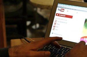 Plataforma de videos YouTube.