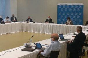 La mesa plenaria del diálogo, instalado el 8 de febrero, tenía una composición inicial de 27 miembros. Ahora solo quedan 22. Foto de archivo