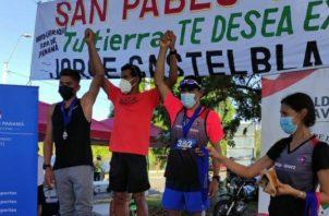 Jorge Castelblanco fue el mejor en la prueba de 5 kilómetros. Aurelio Martínez