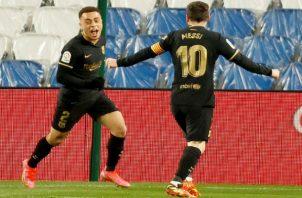 Messi hizo de las suyas.