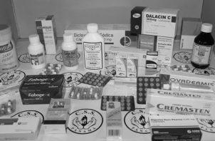 Medicamentos de las farmacias de la Caja de Seguro Social. Foto Ilustrativa: Caja de Seguro Social.