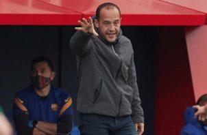 El entrenador del FC Barcelona, Lluís Cortés.