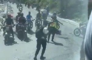 Un grupo armado interceptó a la Selección de Belice a su llegada a Haití para el partido eliminatorio rumbo a Catar 2022.