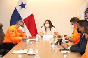 Carlos A. Rumbo P., director General del Sistema Nacional de Protección Civil (Sinaproc), explicó que este operativo iniciará coordinadamente con el Ministerio de Obras Públicas (MOP) y la Autoridad de Aseo Urbano y Domiciliario (Aaud).