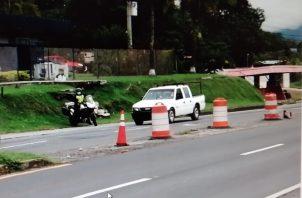 Estos operativos de inversión de vías son duramente criticados por los chameros. Foto: Eric A. Montenegro
