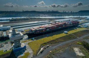 El Canal de Panamá no será una alternativa para lo que ya está a bordo de los buques. EFE