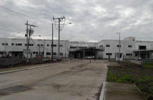 Así quedó la construcción del hospital de Bugaba, distrito que se ha visto privado por años de tener una instalación de este nivel. Archivo