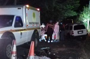 Las tres mujeres heridas fueron trasladadas hacia la policlínica de San Carlos para recibir atención médica.
