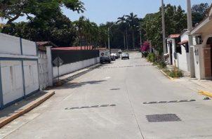 Vista del sector donde se dio el hallazgo de los fetos. Leandro Ortiz