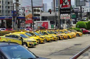 Los taxistas no se ponen de acuerdo en este tema.
