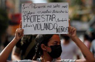 El caso de los albergues generó protestas en diversos puntos del país, con la intervención de la Policía.