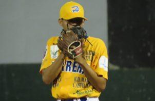 Alexis Bernal, lanzadir de Herrera. Foto:Fedebeis