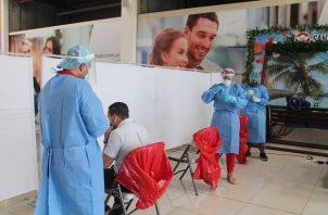 Actualmente, hay 5,023 casos activos de covid-19 en Panamá. Foto cortesía Minsa