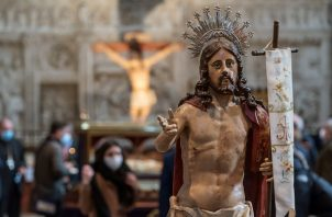 Inauguración de la Muestra de Veneración de la Semana Santa en la Catedral de Ávil.