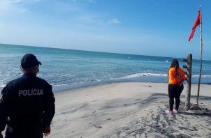 El Sinaproc solicitó a bañistas evitar ingresar a sitios que no cuenten con vigilancia. Foto:Cortesía