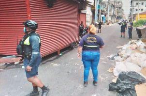 """El crimen de este sábado se perpetró en el sector conocido como """"la Unidad"""". Foto: Diómedes Sánchez"""