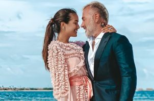 Sharon Fonseca y Gianluca Vacchi. Instagram