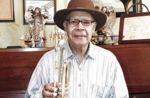 Víctor Nicolás Paz Solanilla nació en la ciudad de Panamá el 30 de agosto de 1932. Foto: Cortesía