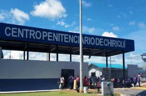 El penal ubicado en la comunidad de Los Icacos en el corregimiento de Chiriquí, cuenta con un área para establecer la cuarentena de los reclusos que dieron positivo al virus.