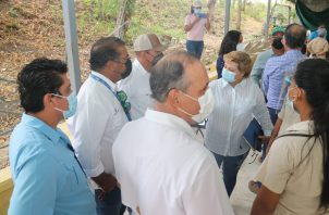 El ministro del Mida, Augusto Valderrama, sostuvo una reunión al más alto nivel del sector agropecuario en Coclé.