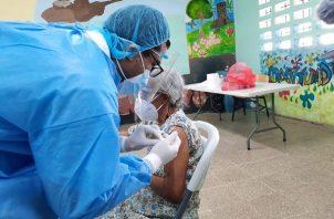 La vacunación debería terminar en la provincia de Panamá este mes.