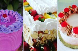 Consejos para estabilizar la decoración del pastel. Fotos: Cortesía/ @sweetcakebyadalberto