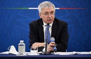 Ministro italiano de Economía, Daniele Franco