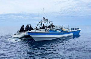 La embarcación fue decomisada por las autoridades judiciales y donada al Senan. Foto: Mayra Madrid