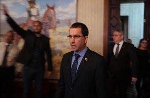 El canciller de Venezuela, Jorge Arreaza. EFE